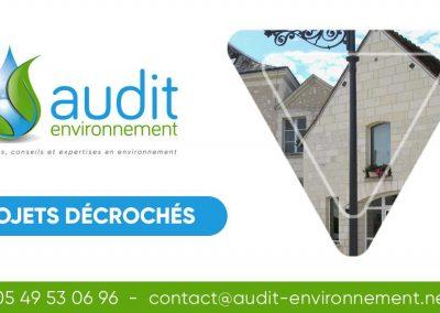 Etudes de schémas directeurs d'assainissement des communes de Ligueil, Ciran, Sepmes et Varennes (37)